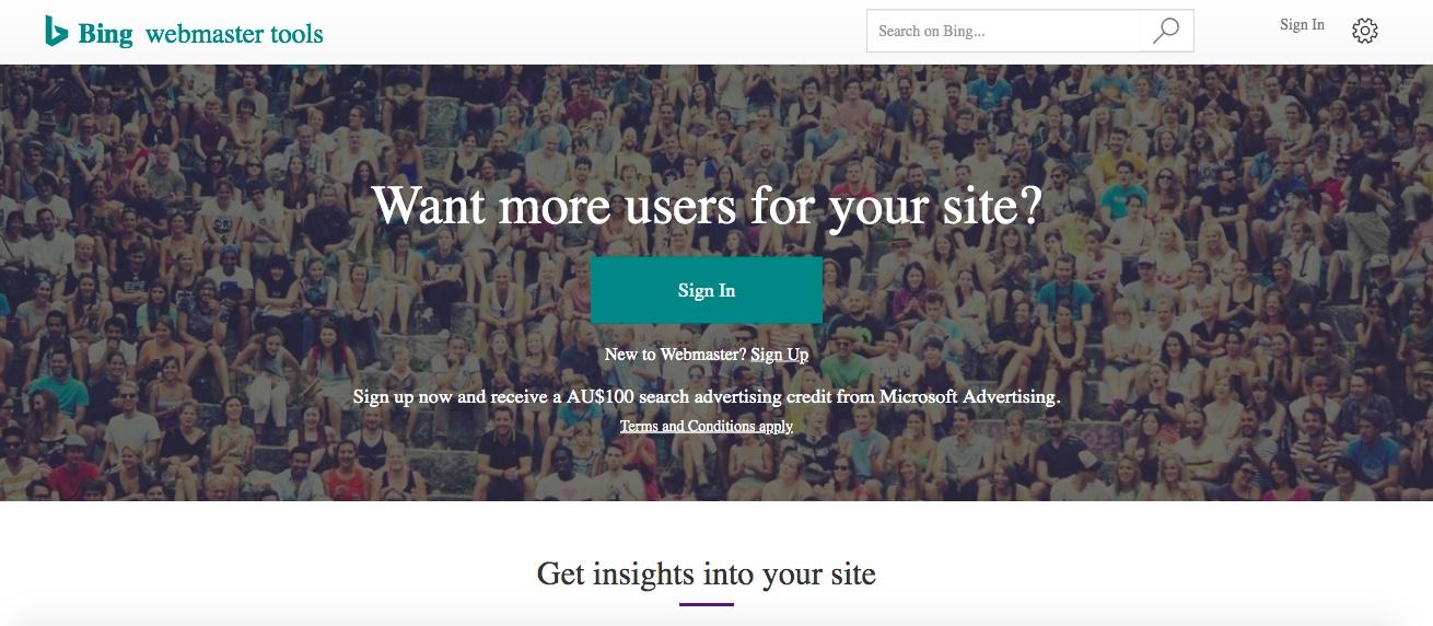 ITBOOST SEO Checklist | Bing Webmaster Tools